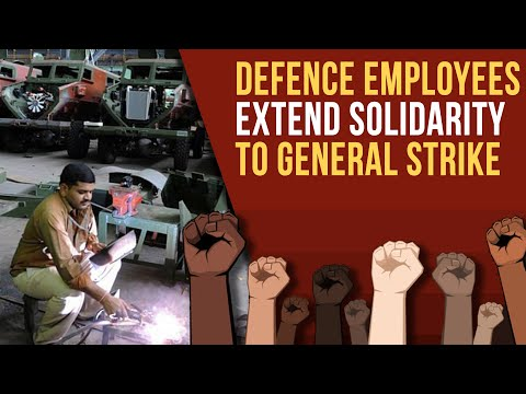 'Where is the Guarantee that Ordnance Factories Won't be Privatised?': AIDEF Leader