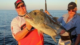 Big Baits for Big Giant Trevally!!  Fishing video!! Thumbnail