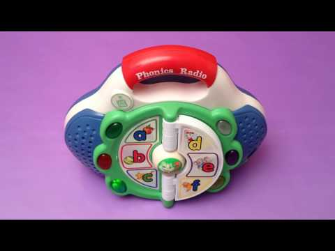 Leap Frog Phonics Radio Toy with Lights Sounds Music - Learn Phonics for Kids