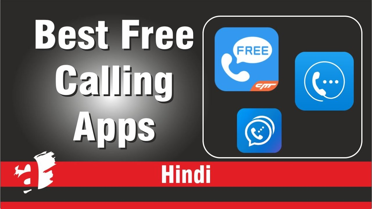 (Hindi) Best free calling apps of android 2017