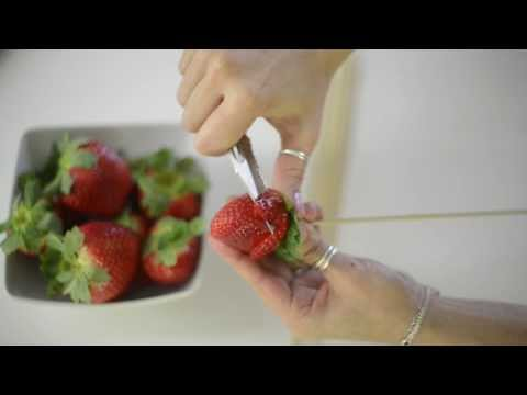 Strawberry Roses (edible arrangement) Tutorial.