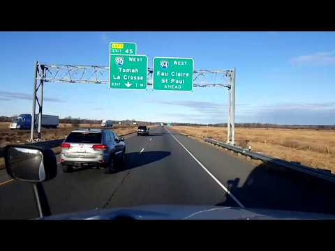 BigRigTravels LIVE! Oakdale to Wausau, Wisconsin WI 21,I-39,WI 54-Dec. 5, 2017