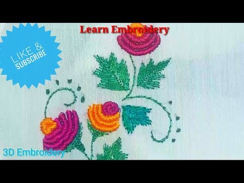 learn-embroidery-||-3d-embroidery