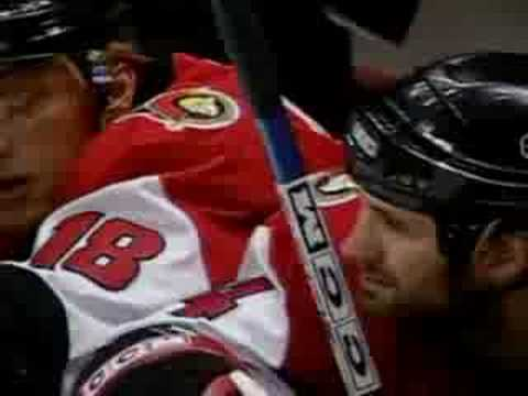 Chris Phillips scores in OT to win game 6 in New Jersey