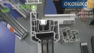 видео Остекление и металлопластиковые конструкции в Кривом