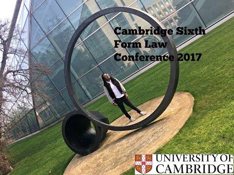 Cambridge Sixth Form Law Conference 2017!!