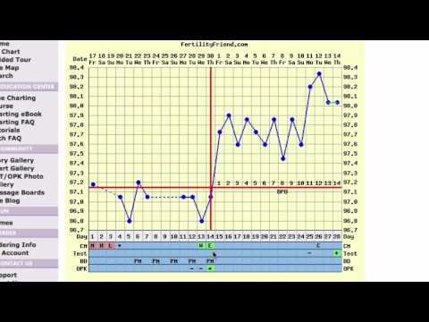 Charting Basal Body Temperature For Ovulation & Pregnancy