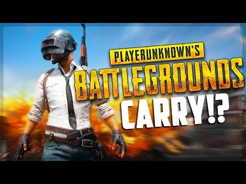 Carrying The Squad! (Battlegrounds)