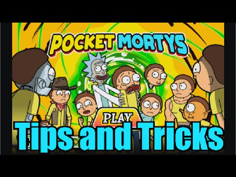 Full download rick morty game pocket mortys for Rick and morty craft list
