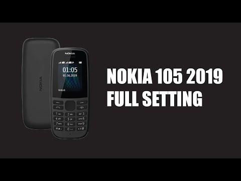 Nokia 105 2019 TEST Full Setting