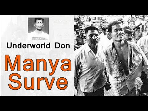 Underworld Don Manya Surve
