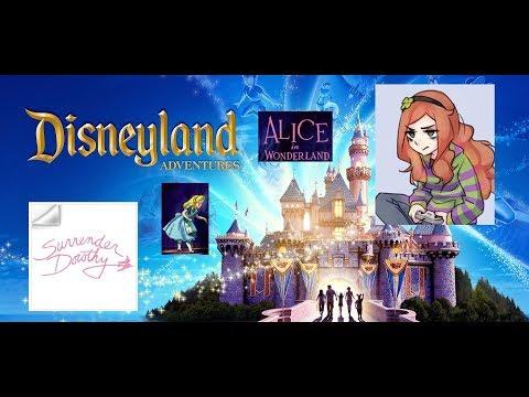 Disneyland Adventures - Alice in Wonderland