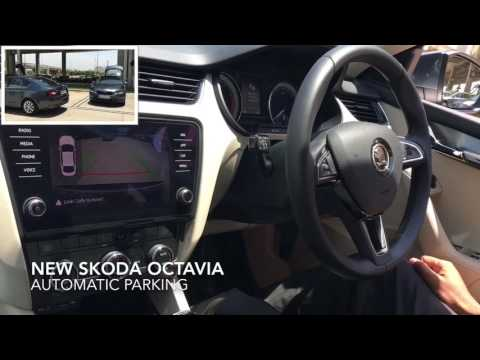 New Skoda Octavia facelift - Automatic Parking