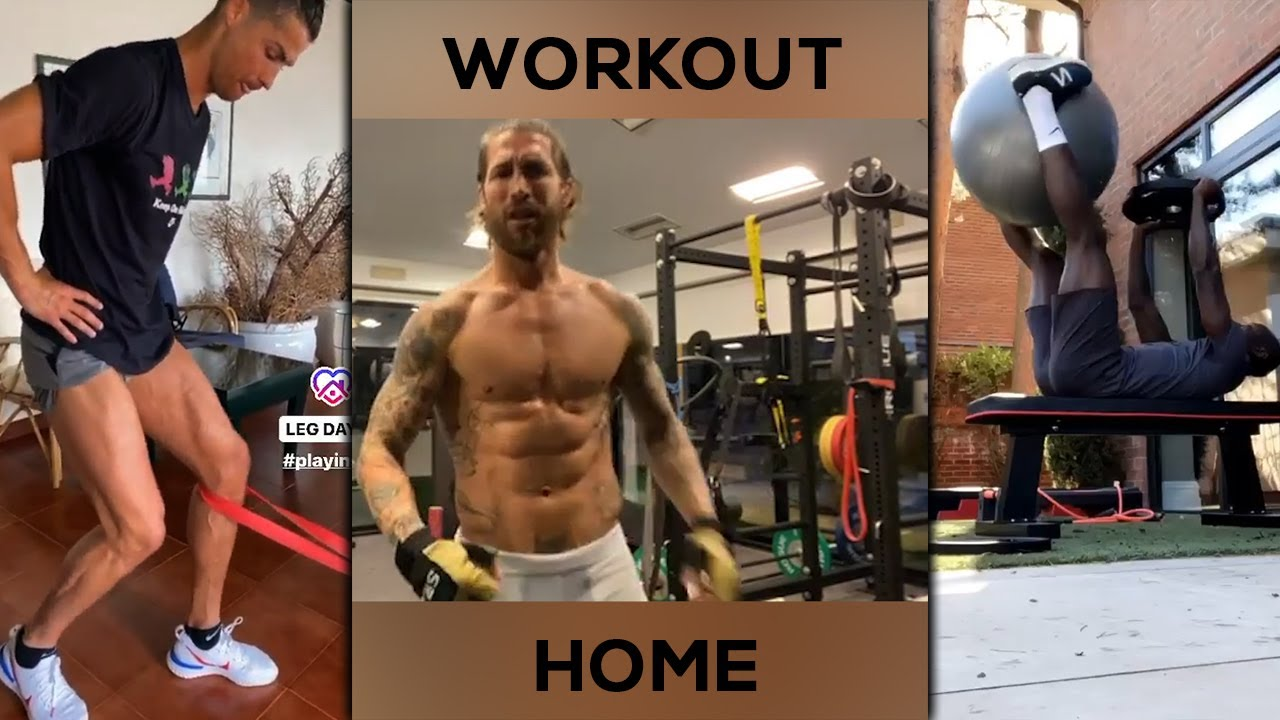 Insane Home Workouts By Football Players 2020 Youtube