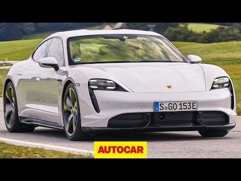 2020 Porsche Taycan review   new electric Porsche driven   Autocar