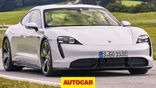 2020 Porsche Taycan review | new electric Porsche driven | Autocar