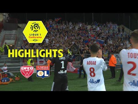 Dijon FCO - Olympique Lyonnais ( 2-5 ) - Highlights - (DFCO - OL) / 2017-18
