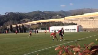 Genoa: Le immagini della partita contro la Primavera