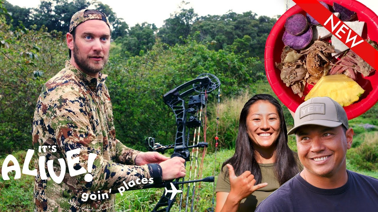 Brad Hunts Boar in Hawaii | It's Alive: Goin' Places | Bon Appétit