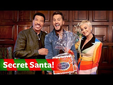 Katy Perry, Luke Bryan & Lionel Richie Exchange Secret Santa Gifts - American Idol On ABC