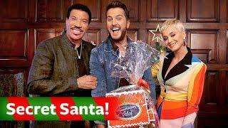 Katy Perry, Luke Bryan & Lionel Richie Exchange Secret Santa Gifts - American Idol on ABC