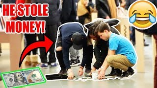 DROPPING $100,000 IN PUBLIC PRANK!