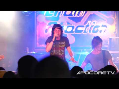 Sleeping With Sirens - If I'm James Dean, Then You're Audrey Hepburn (Live at Chain Reaction) [HD]
