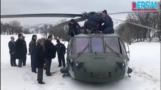 Polis helikopteri zorunlu iniş yaptı