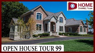 Open House Tour 99  - Exquisite 5,000 sf Custom Home - Built by KLM Builders