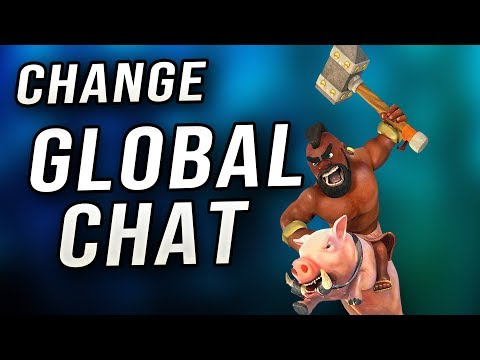 Clash Of Clans - How To Change Global Chat Region
