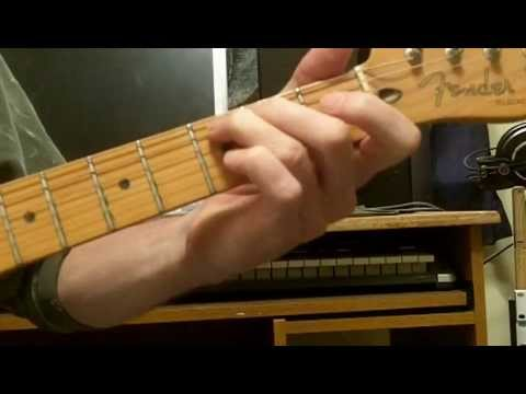 "How To Play ""Just My Imagination"" The Temptations"