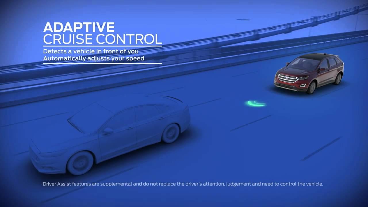 Edge Adaptive Cruise Control At Maplecrest Ford