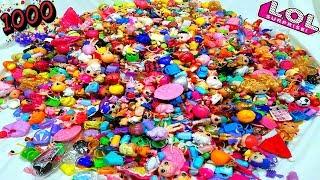 1000 LOL SURPRISE LOL Dolls 1000 КУКЛЫ ЛОЛ МОЯ КОЛЛЕКЦИЯ Игрушек #Пупсики #Сюрпризы Распаковка ОБЗОР