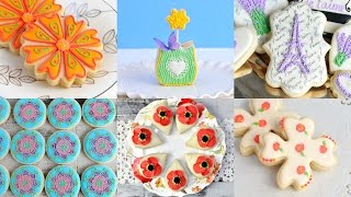 AMAZING MOTHER'S DAY COOKIES and PETIT FOURS, HANIELA'S