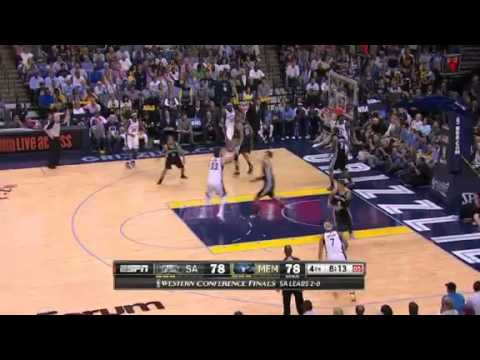 NBA San Antonio Spurs Vs Memphis Grizzlies - Game 3 | 25th May 2013 | Western Conference Finals 2013