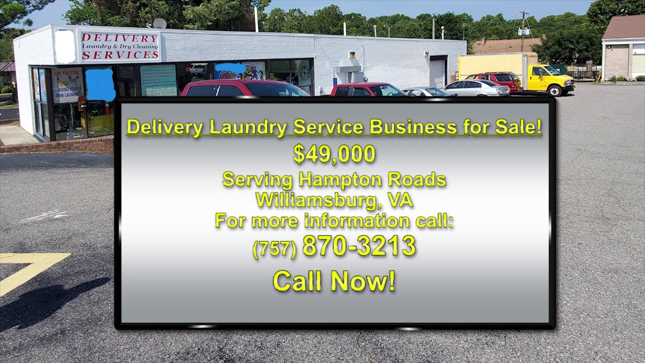 Laundry Business For Sale In Williamsburg Va Youtube