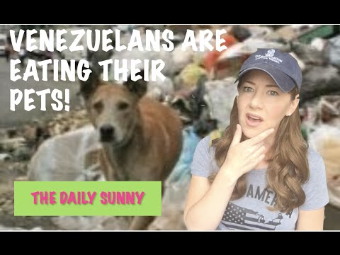 VENEZUELANS ARE EATING THEIR PETS!  //  The Daily Sunny