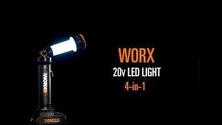 WORX WX027 Led Light - UK English - www.worx.com