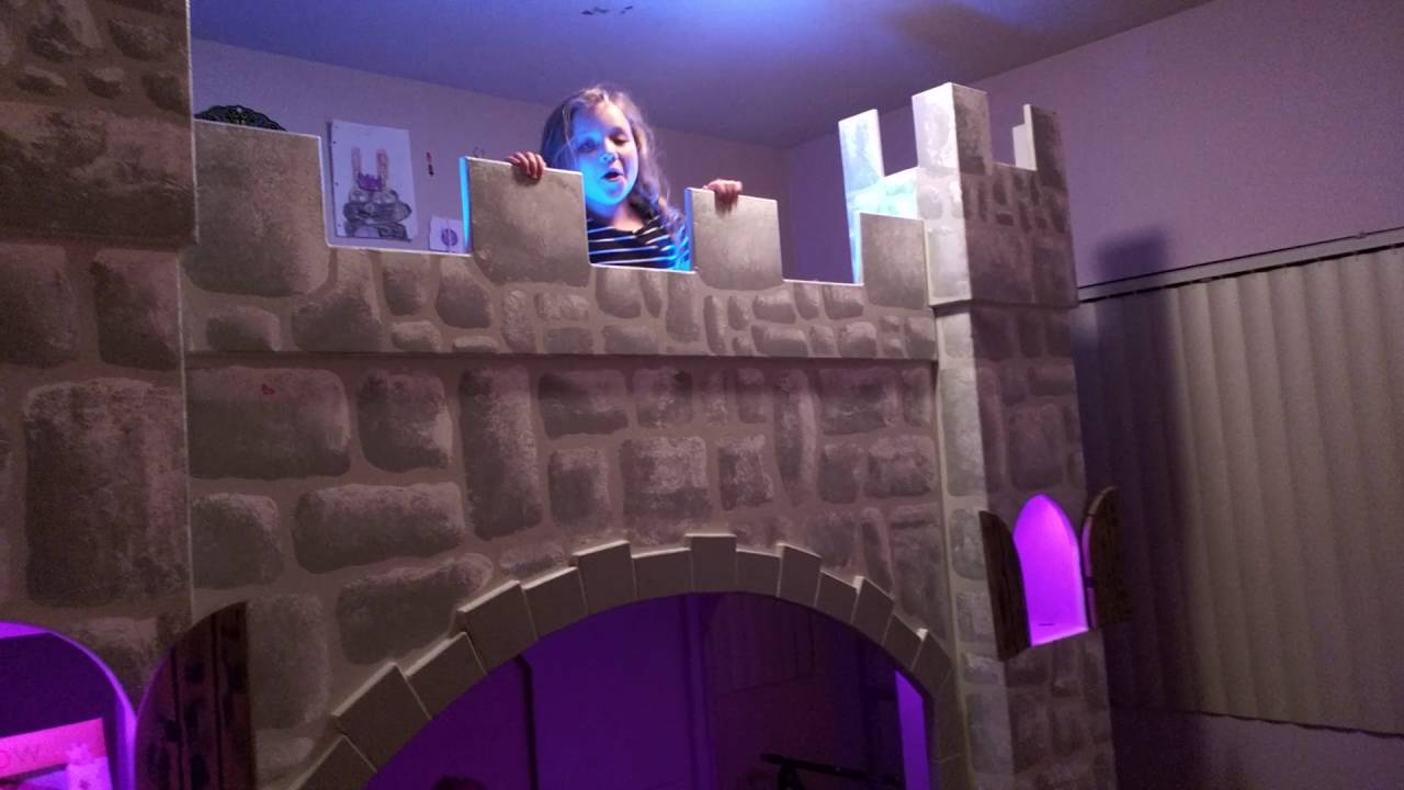 Most Awesome Crazy Insane Castle Bunk Bed Of All Time