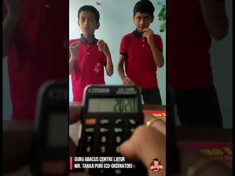 Magic Of Abacus Learning - The Guru Abacus Centre Latur