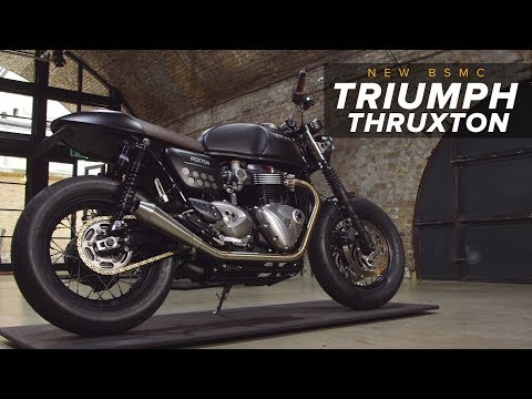 New BSMC Triumph Thruxton!