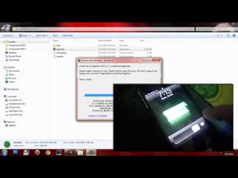 How To Jailbreak 5.1.1 Untethered - Windows 7 (100% WORKING,NO ERROR!)