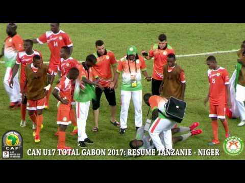 CAN U17: CÉLÉBRATION APRES LA VICTOIRE ET RESUME DU MATCH TANZANIE - NIGER