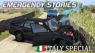 Emergency Stories - Italy Special - BeamNG Drive (Short Stories)