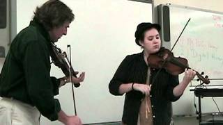 Bluegrass in the Schools - Fiddle Demonstration