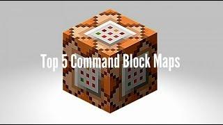 Top 5 MCPE Command Block Maps