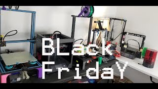Gearbest Black Friday 3D Printer sale.  3D printer buyers guide 2018