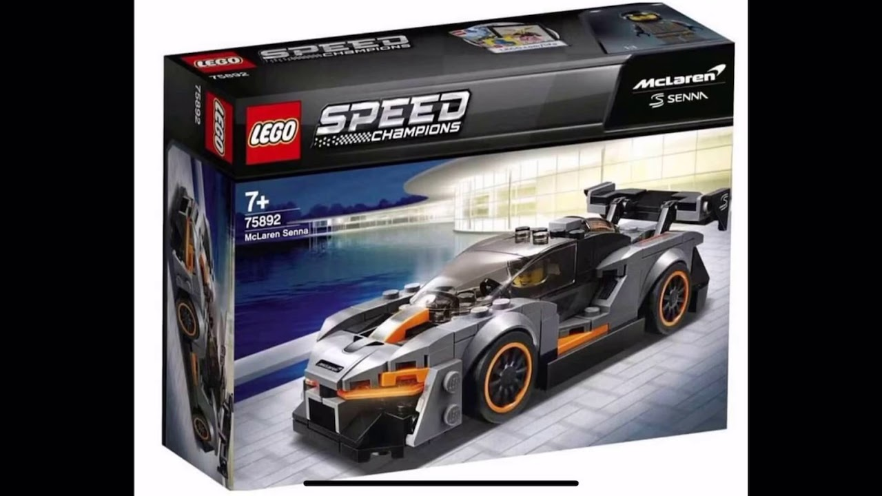 lego speed champions 2019 sets revealed youtube. Black Bedroom Furniture Sets. Home Design Ideas