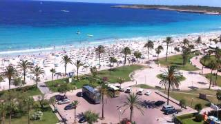 CALA MILLOR BEACH - MALLORCA, SPAIN. THE BEST VIEW Sentido Castell de Mar Hotel