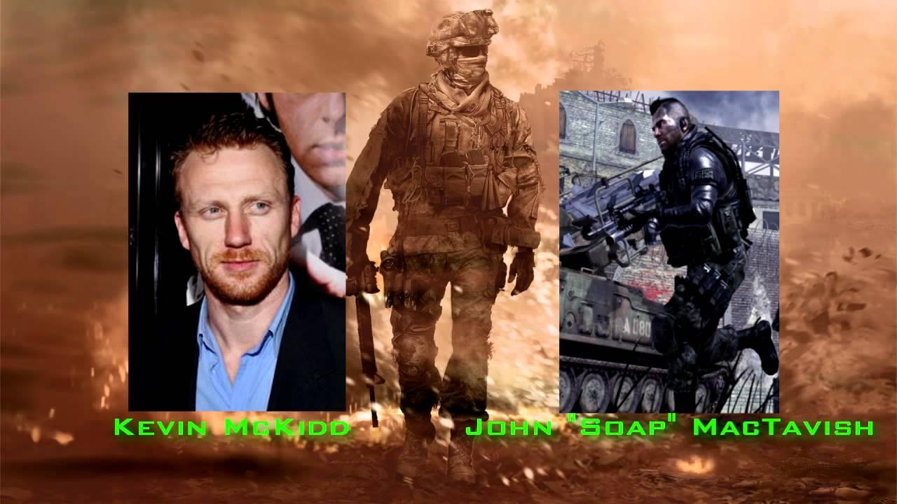 Call Of Duty Modern Warfare 2 Voice Actors Youtube